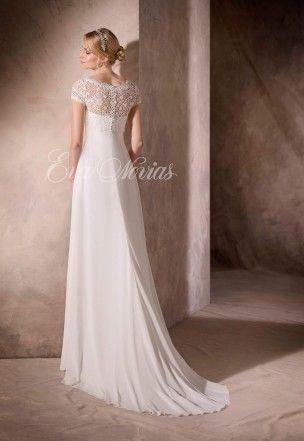 vestido de novia modelo hope de la sposapronovias en eva novias