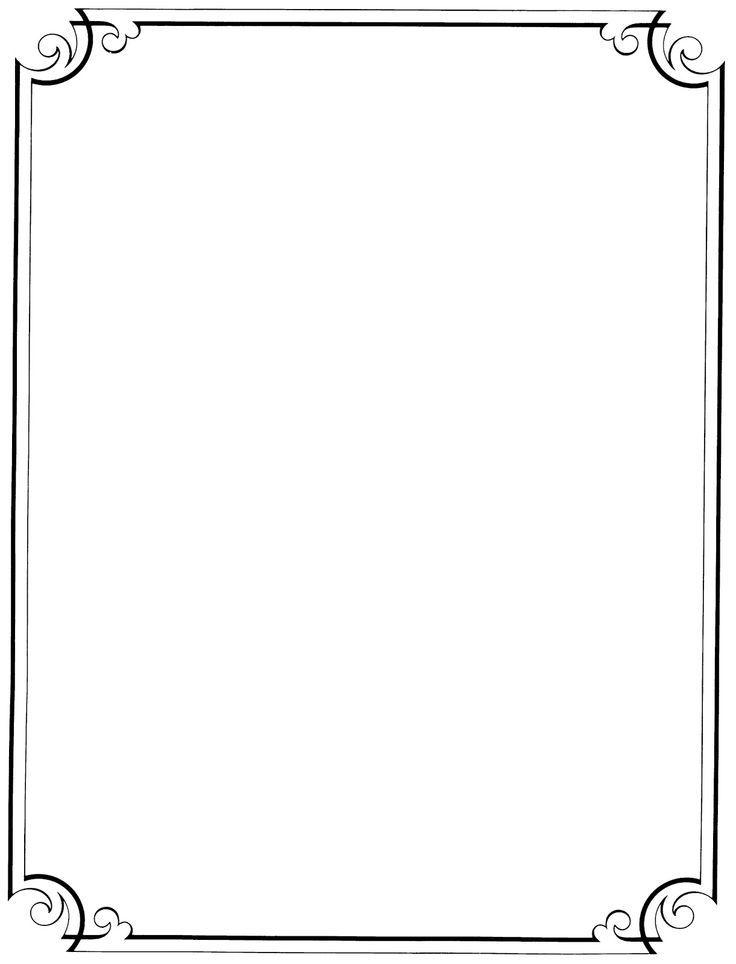Printable Fancy Borders. free fancy paper borders