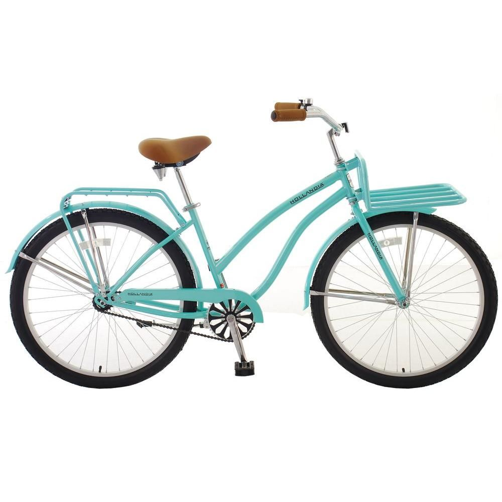 Sign us up for a warm summer day spent cruising around town on this  Hollandia Holiday bike! | Bicycle, Cruiser bicycle, Womens bike