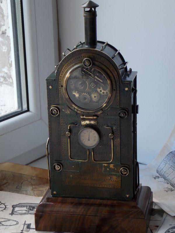 Купить настенные часы из коллекции «Стимпанк»