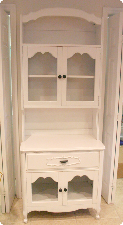 Superior Kitchen Hutch Makeover