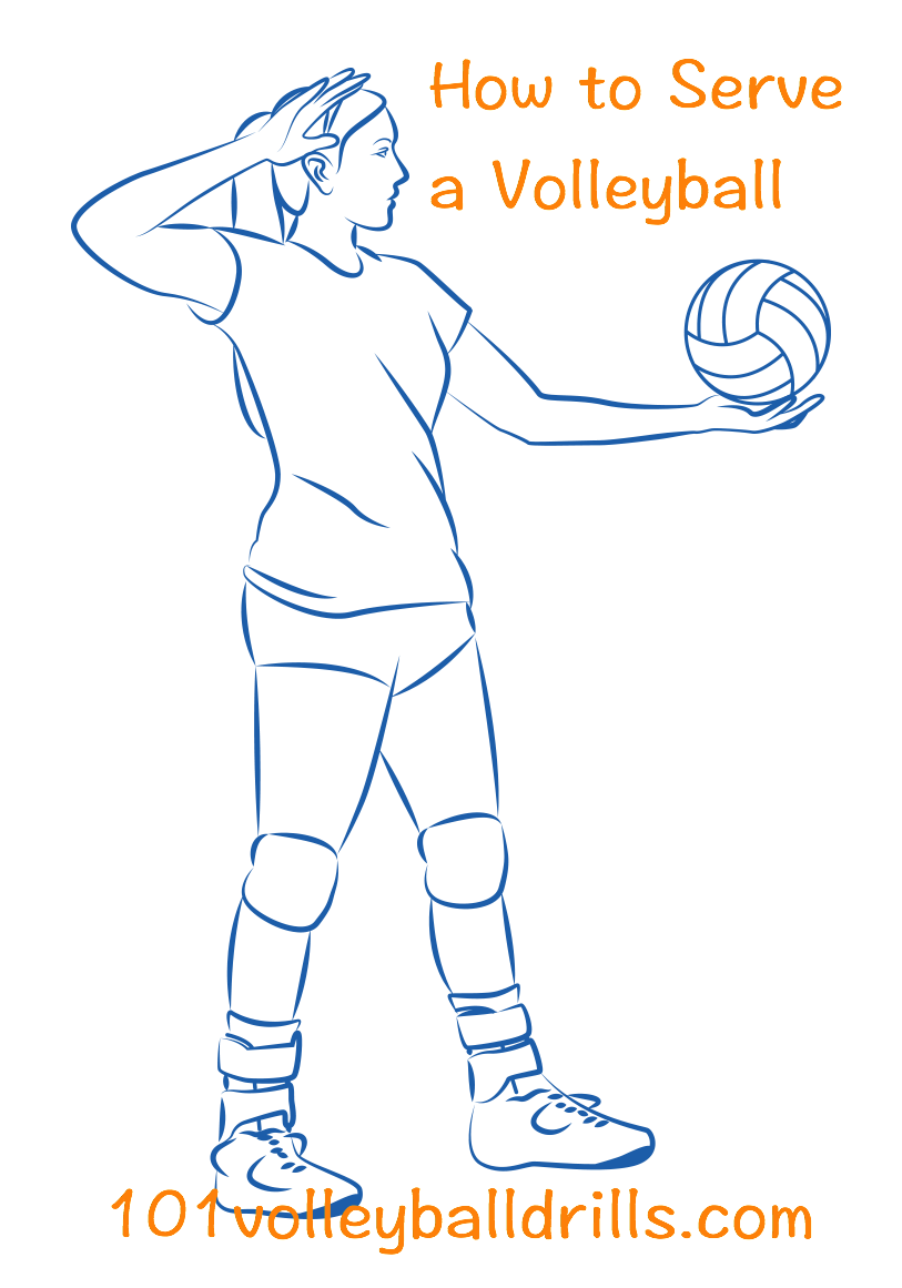 Give Your Team The Advantage With All Of The Info Needed To Become An Accurate And Powerful Server Learn The Volleyball Coaching Volleyball Volleyball Skills