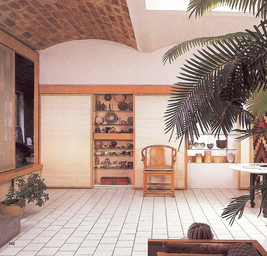 home of jack lenor larsen new york loft lofts. Black Bedroom Furniture Sets. Home Design Ideas