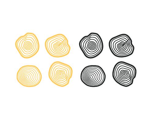 Tree Ring Branding Icon For Logo By Lucas Jubb Tree Icon Tree