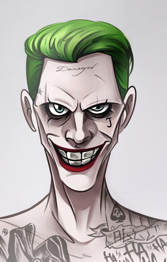 Joker By Nogicu En 2019 Dibujos De Joker Superheroes