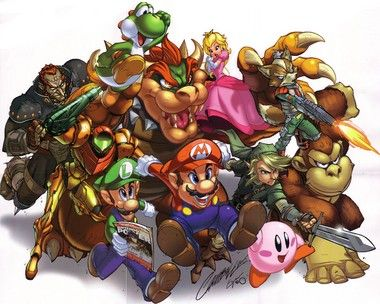 Nintendo Power Issue 200 poster  Classic game characters