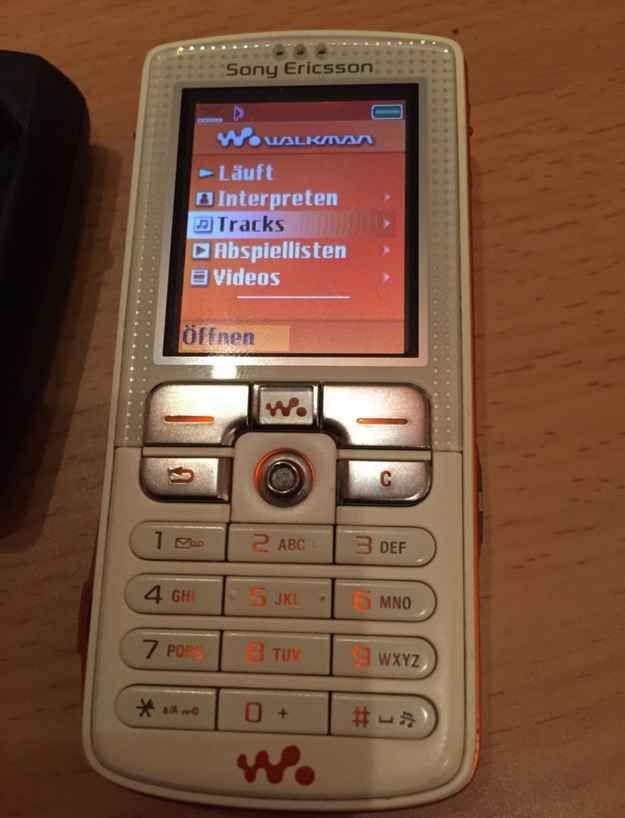Dein Sony Ericsson W800 aus dem Jahr 2005