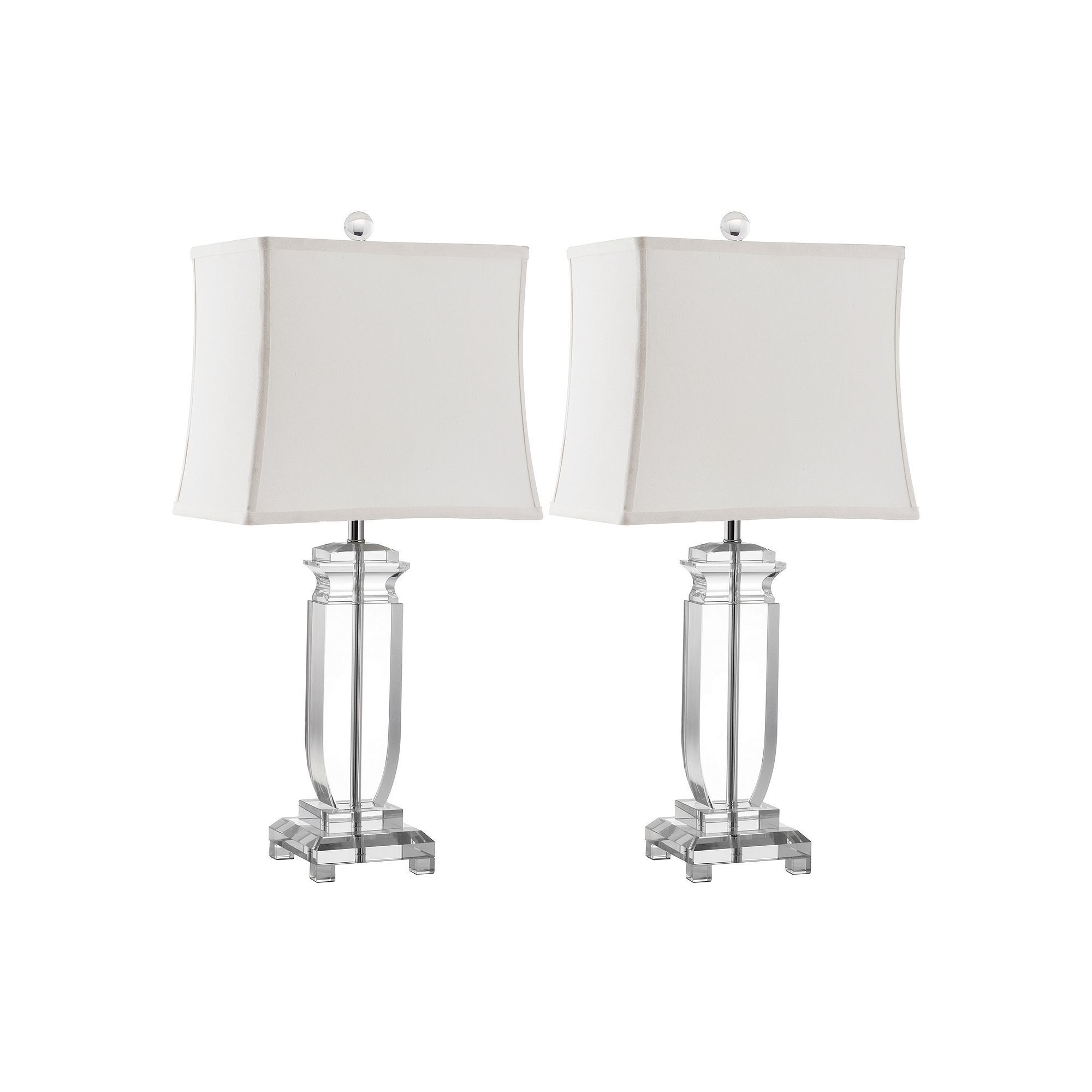 Safavieh 2 Piece Olympia Crystal Table Lamp Set Table Lamp Sets