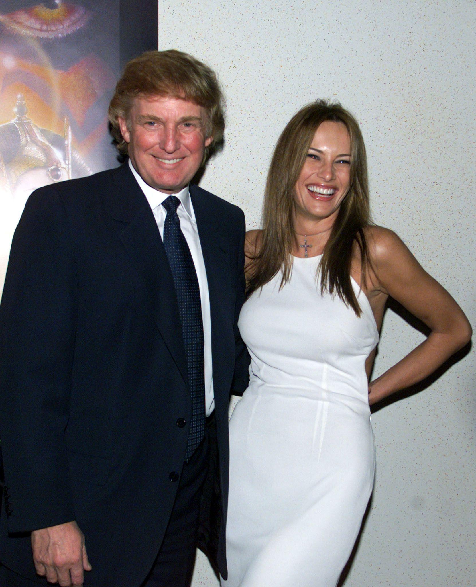 Story Donald Trump Wedding Photos: Pin On MELANIA TRUMP OUT LOUD