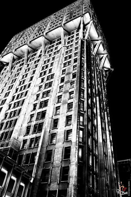 Torre Velasca by BBPR, Milan, 1956-1958