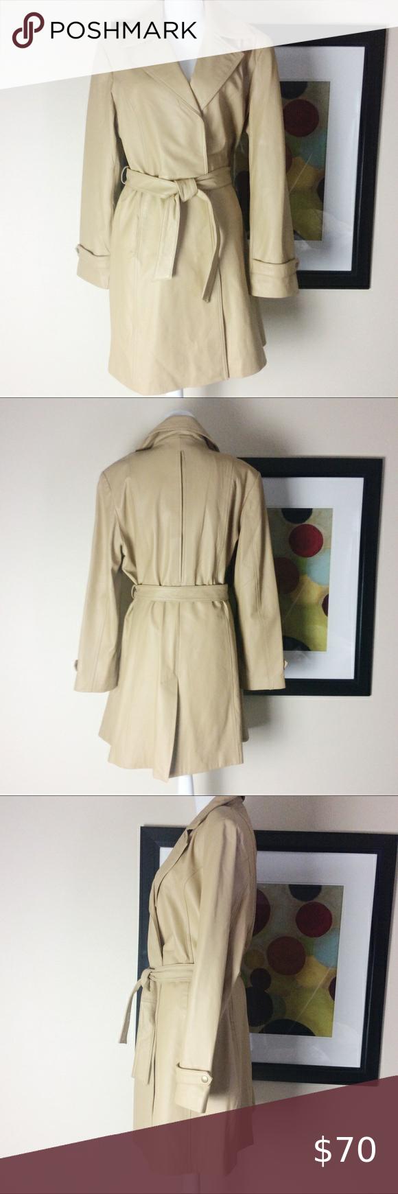 Nwot Leather Gorgeous Coat Centigrade Xl Leather Coat Coat Clothes Design [ 1740 x 580 Pixel ]