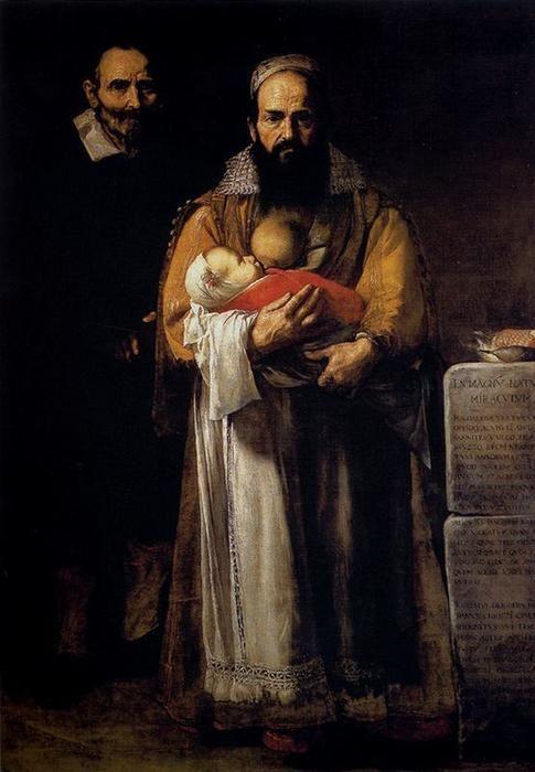La mujer Barbuda, José de Ribera - 1631 (Hospital de Tavera, Toledo)  Cuadro...