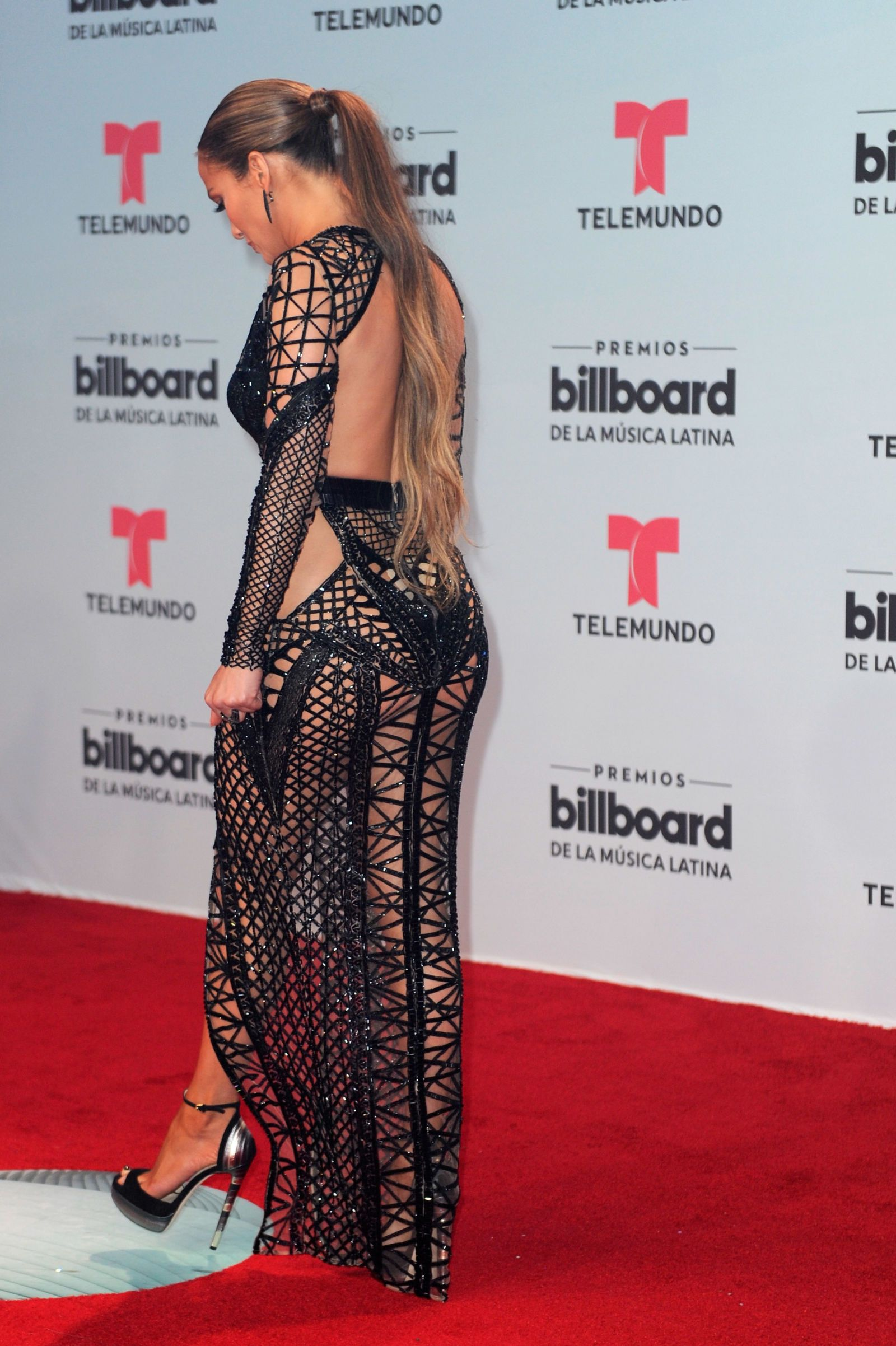 did you miss jennifer lopez wearing not one but two naked dresses at