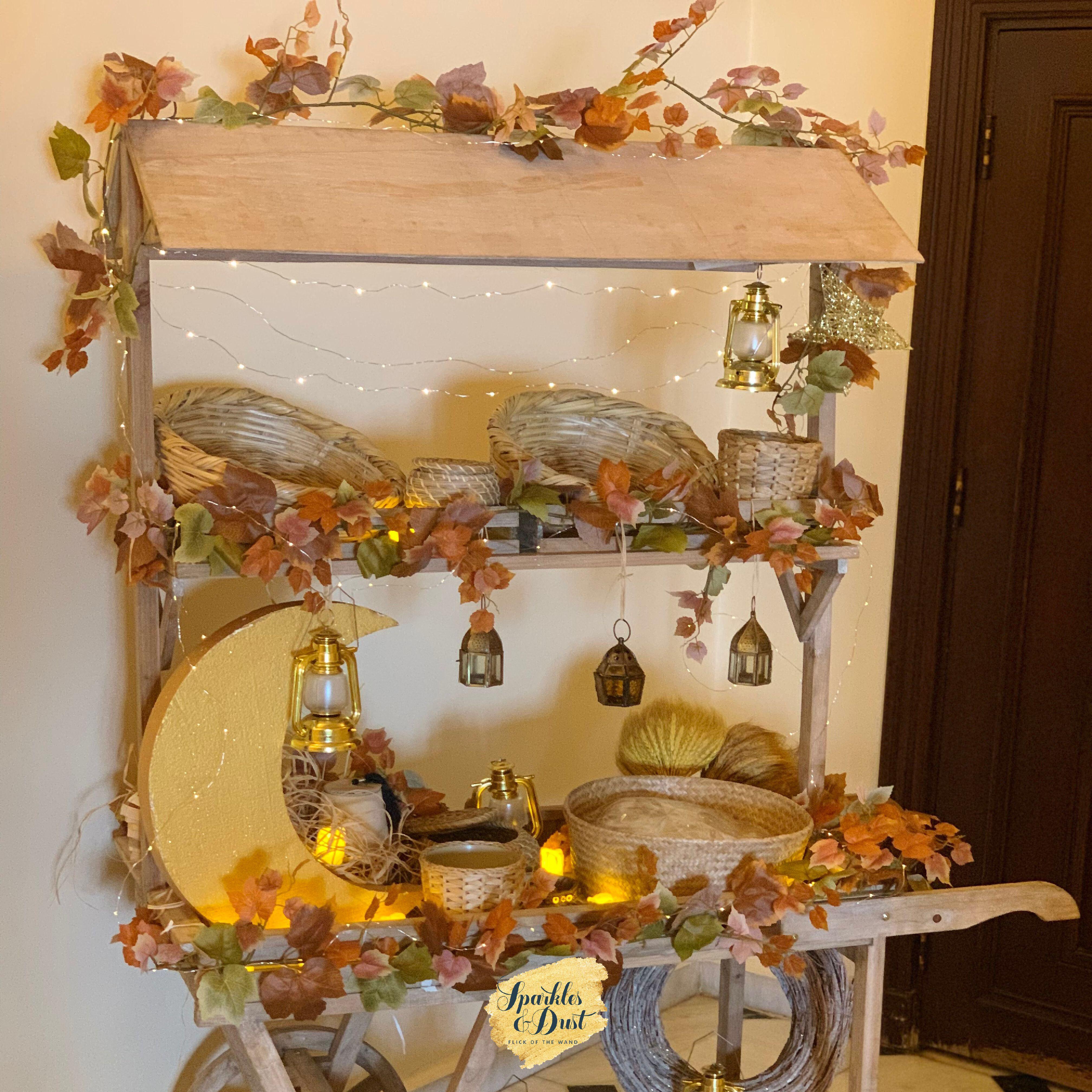 Ramadan Trolly For Home زينة بيت لرمضان Decor Fall Wreath Table Settings