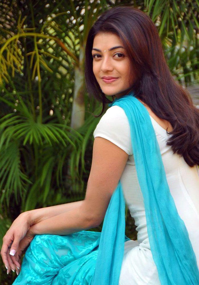 Kajal Agarwal Stills In White Punjabi Dress  Kajal -4187