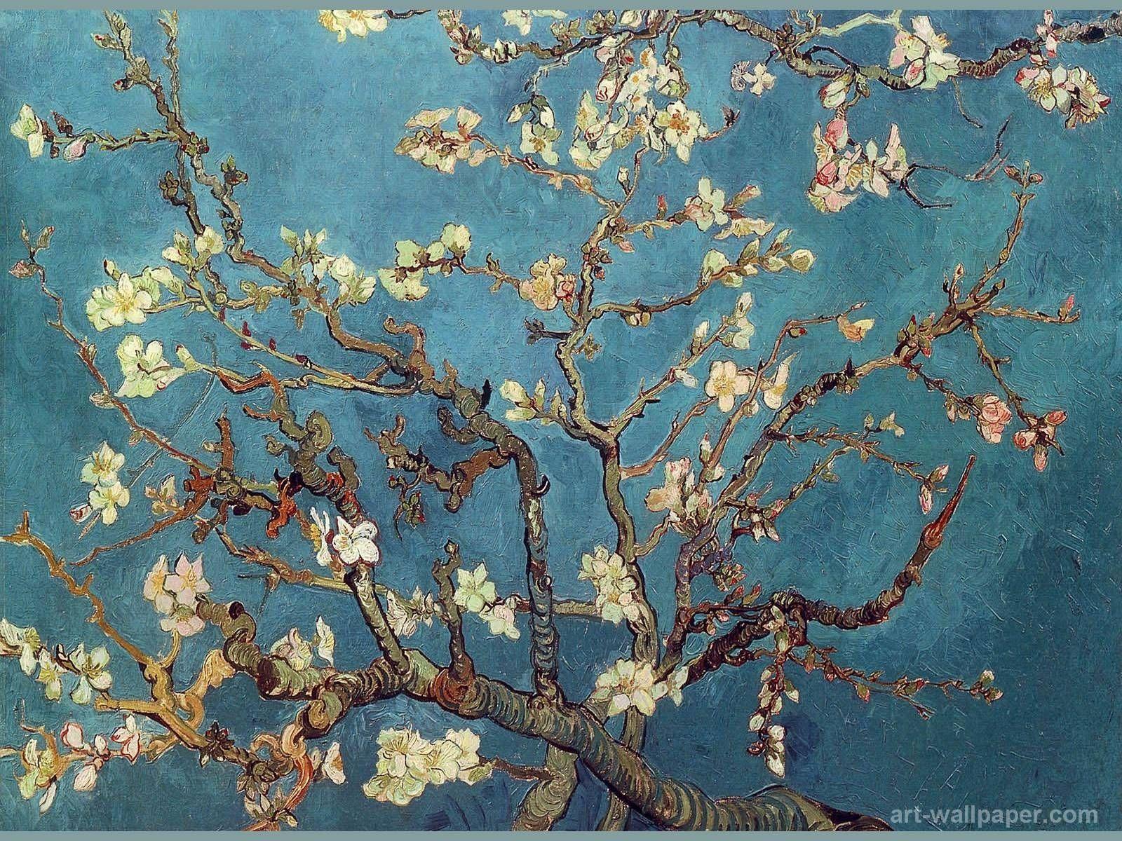 10 Latest Van Gogh Desktop Wallpaper Full Hd 1080p For Pc Background Van Gogh Flowers Van Gogh Almond Blossom Van Gogh Wallpaper