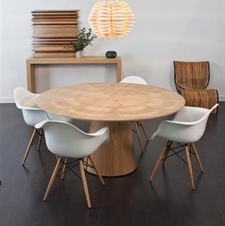 CLASSIQUE Round Dining Table By GLOBE WEST   Make Your House A Home,  Bendigo Central