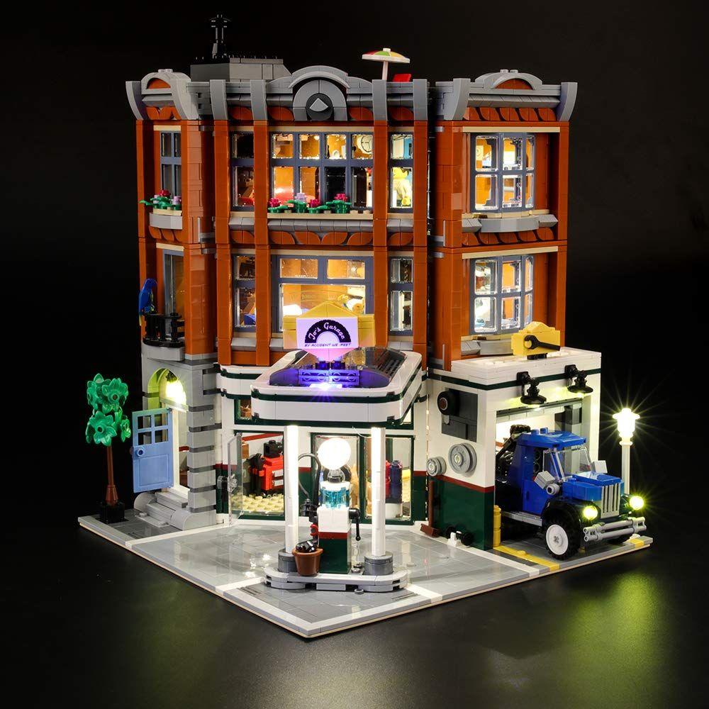 Lightailing Licht Set F R Creator Expert Eckgarage Modell Led Licht Set Kompatibel Mit Lego 10264 Modell Nicht Enthalten In 2020 Led Licht Led Leuchten Led