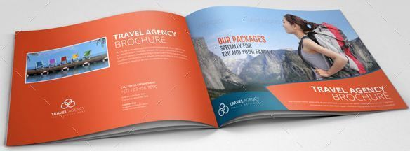 Travel Agency Brochure Catalog Template HttpTextycafeCom
