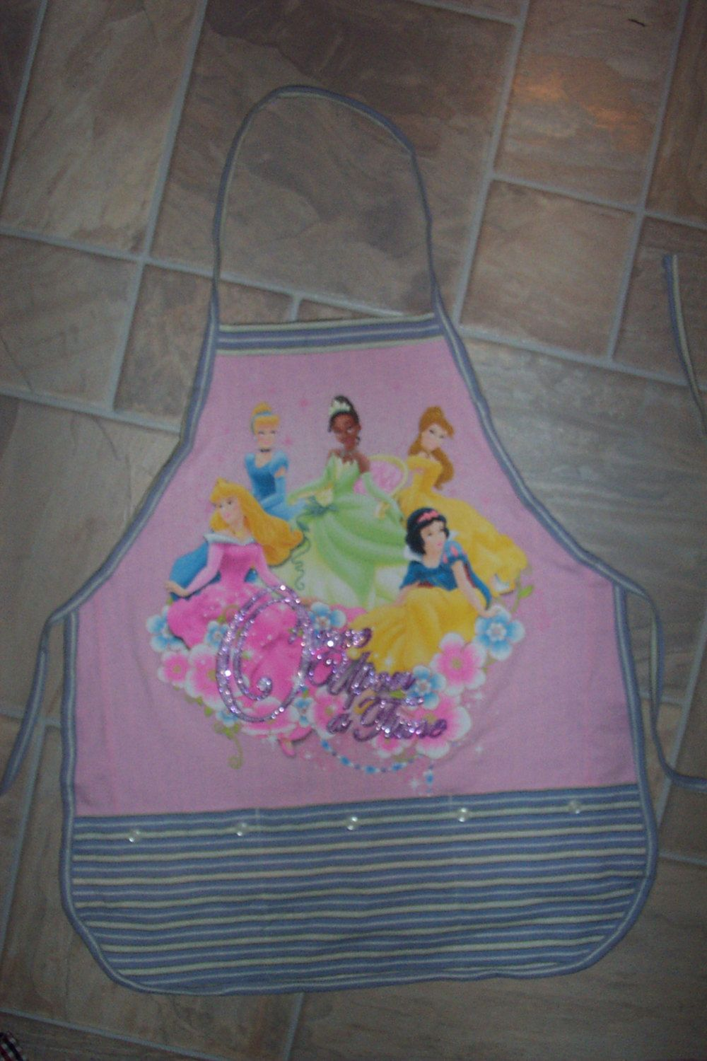 Kid sized Princess Apron by funfoodsaprons on Etsy