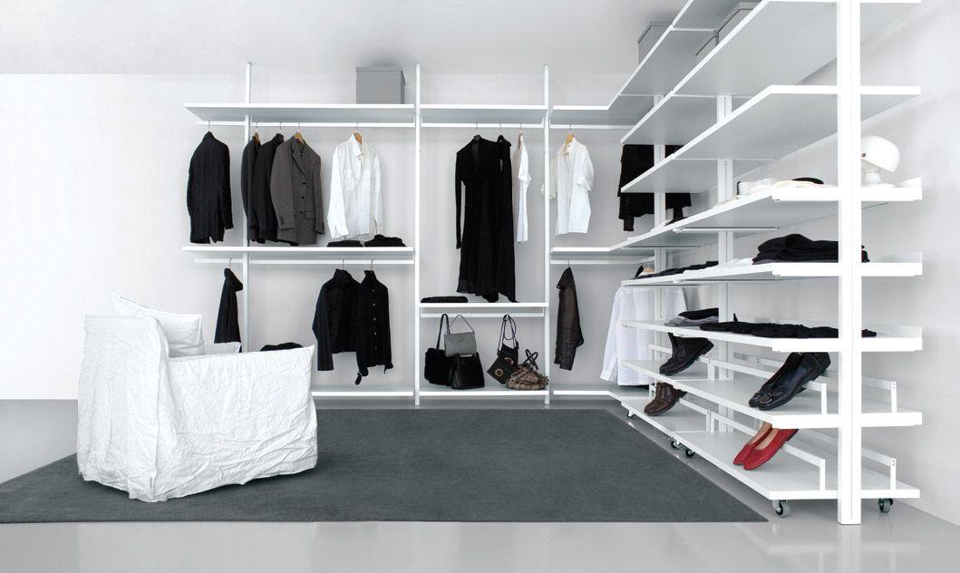 Cabina armadio ad angolo bianca PE01, Cabine PERSONAL Webshop: www ...