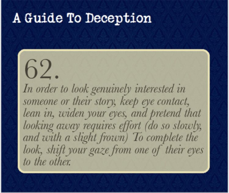 Pin By Kay Nottoday21 On Writing Guide To Manipulation How To Read People A Guide To Deduction