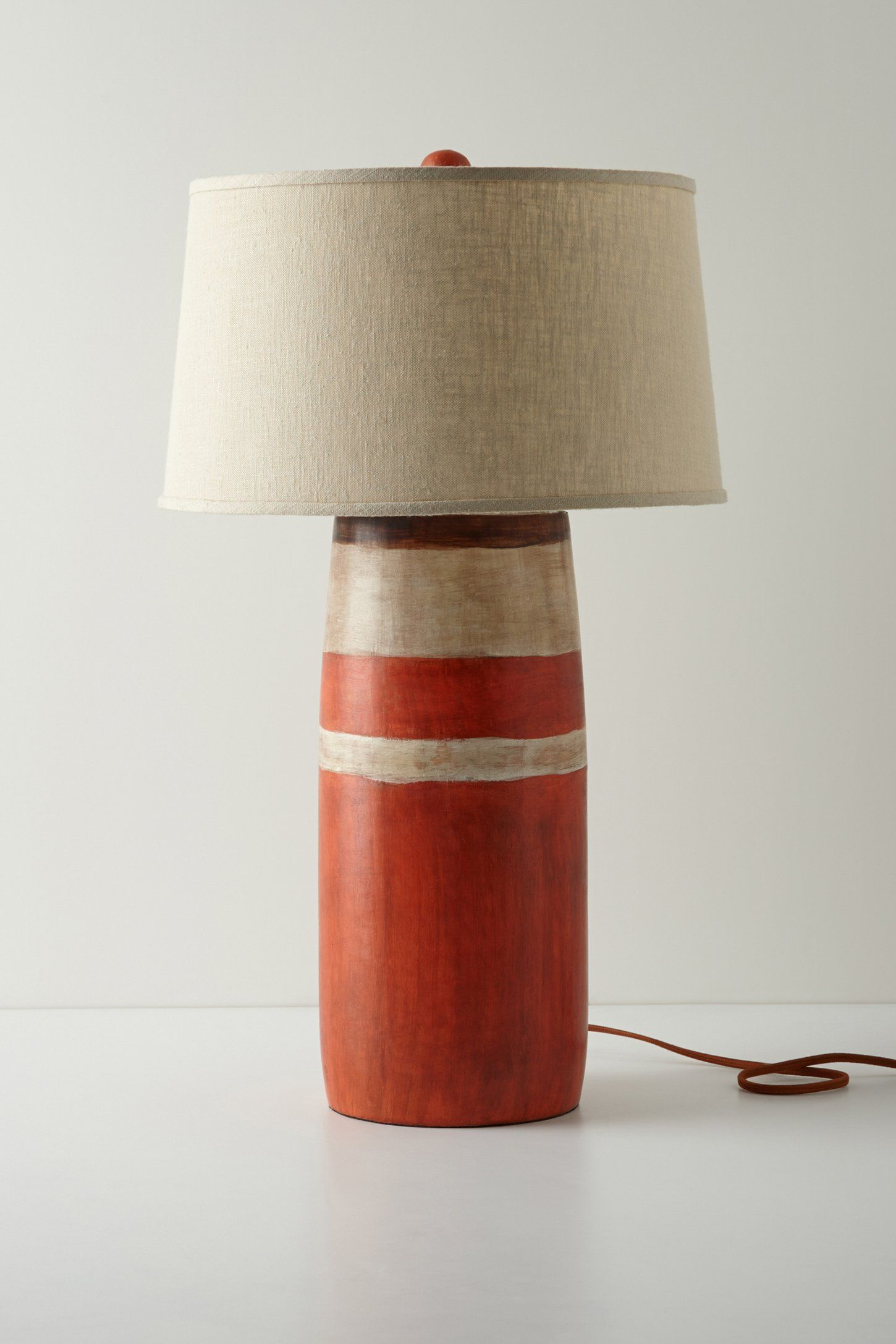 Red Bases For Living Room Decor: Red Boathouse Lamp Base