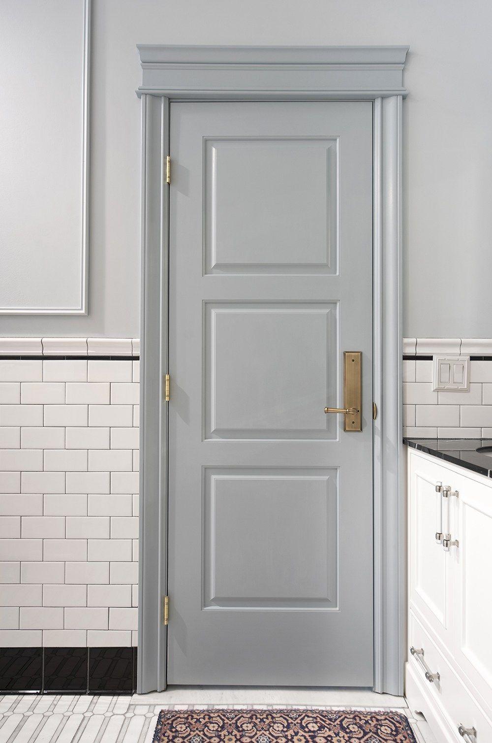 Designer Trick Choosing The Perfect Paint Color Room For Tuesday Doors Interior Wooden Door Design Doors And Hardware