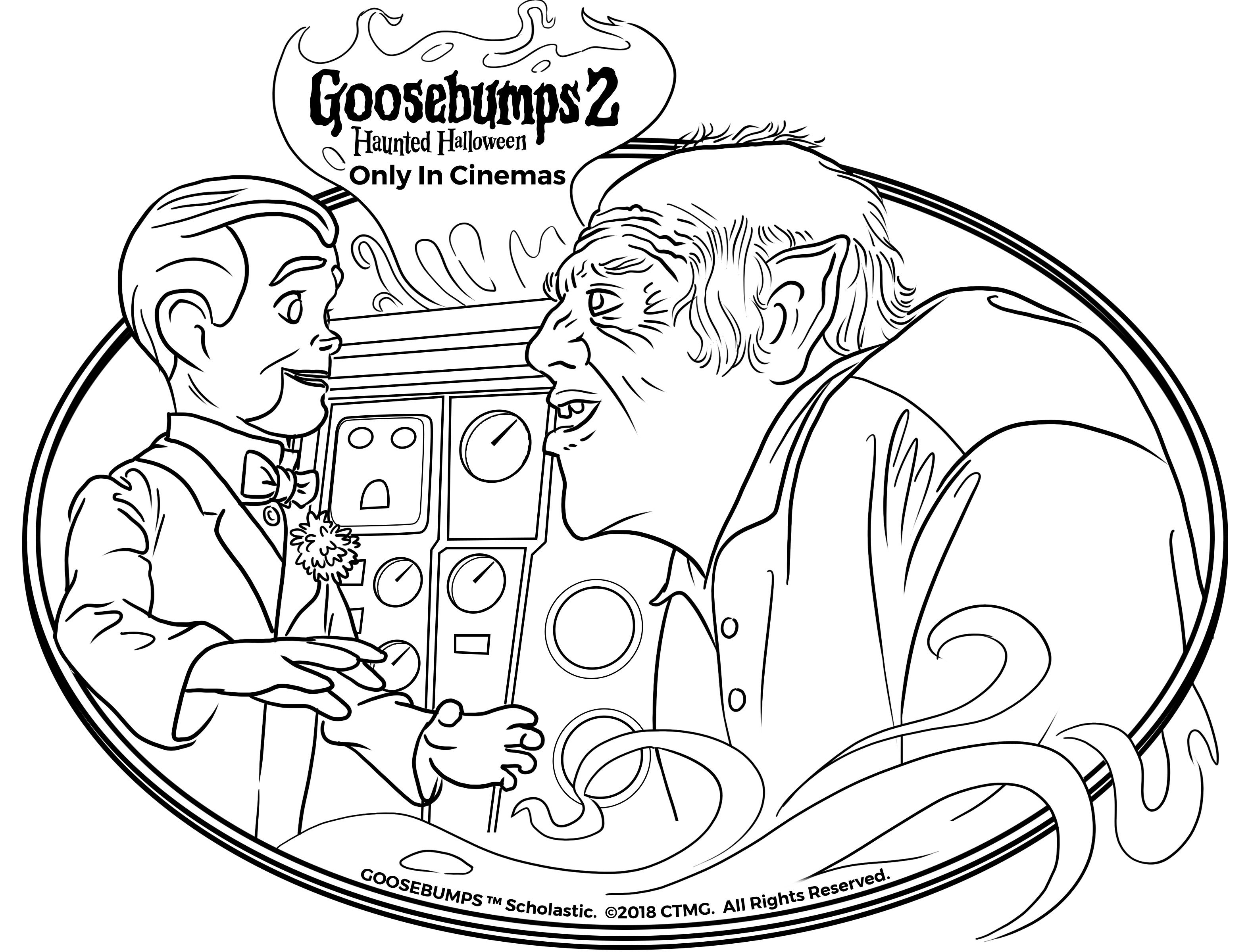 keep away from danger this october #goosebumps2movie #