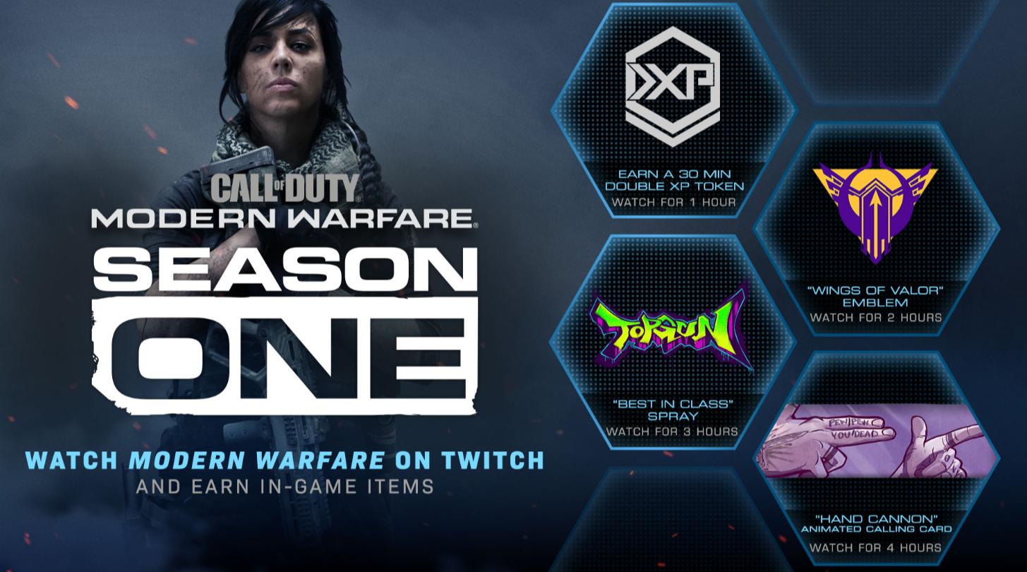 Watching Call Of Duty Modern Warfare Twitch Streams Will Earn Player In Game Rewards Activision Callofduty Callofdutym Modern Warfare Twitch Call Of Duty