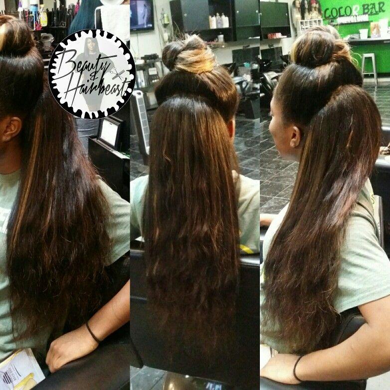 2 Way Versatile Sew In Long Hair Styles Hair Makeup Hair Styles