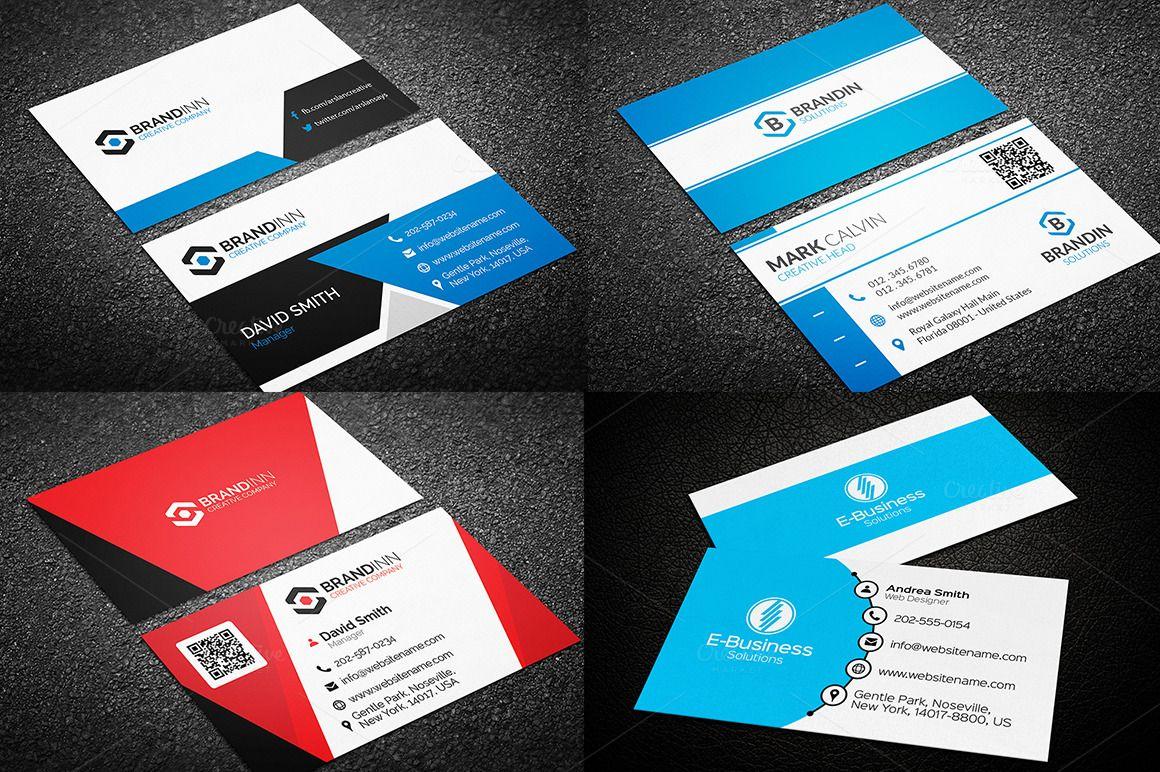 10 Creative Business Card Templates by Arslan on Creative Market ...