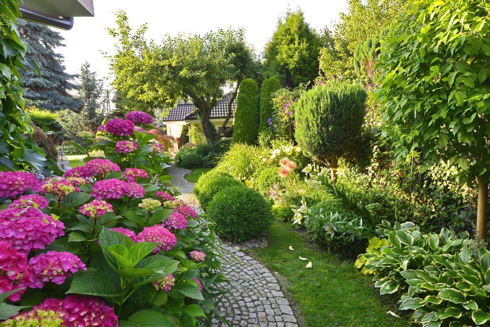 Gestaltungstipps für große Gärten Garden projects, Hydrangea and - schoner garten mit wenig geld