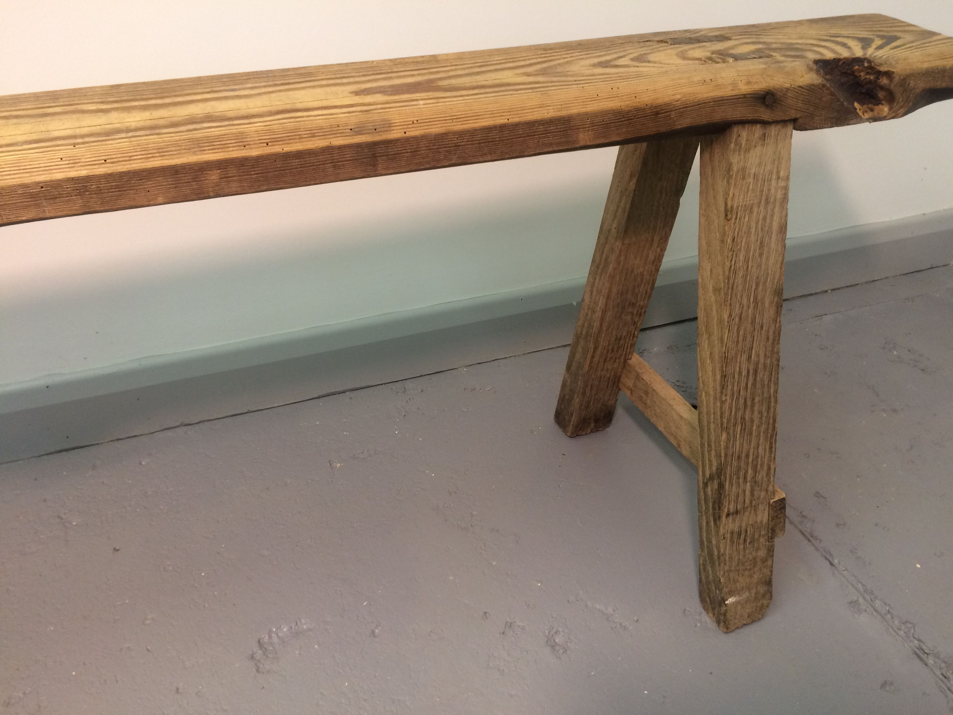 trestle farmhouse benches provence prov bench with shop ecustomfinishes
