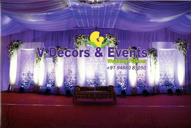 Hindu Wedding Decoration Stage Decoration Reception
