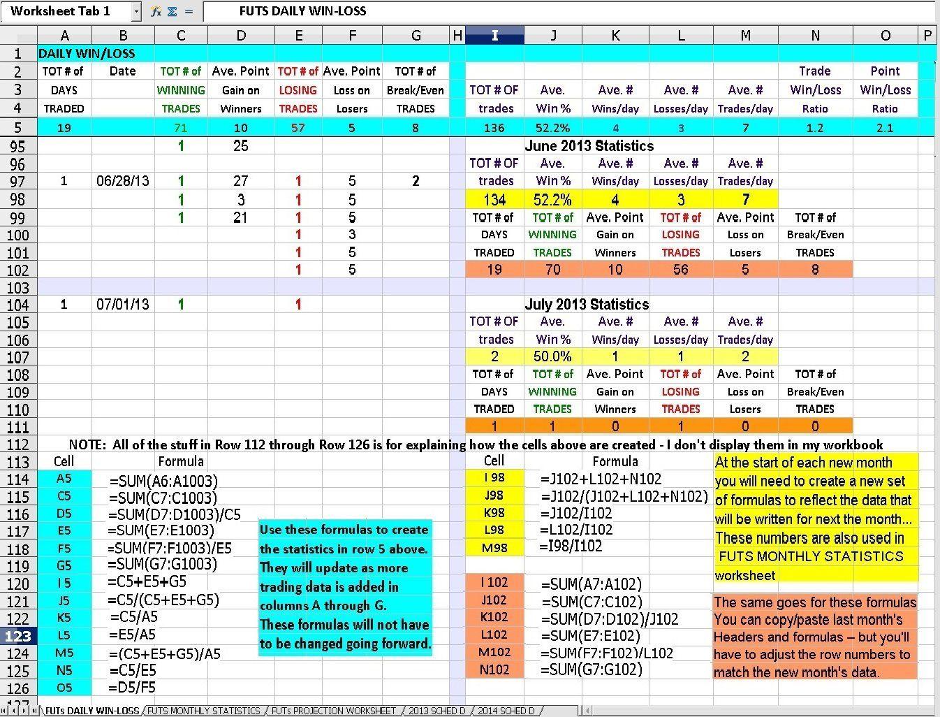 Worksheet Excel Workbook
