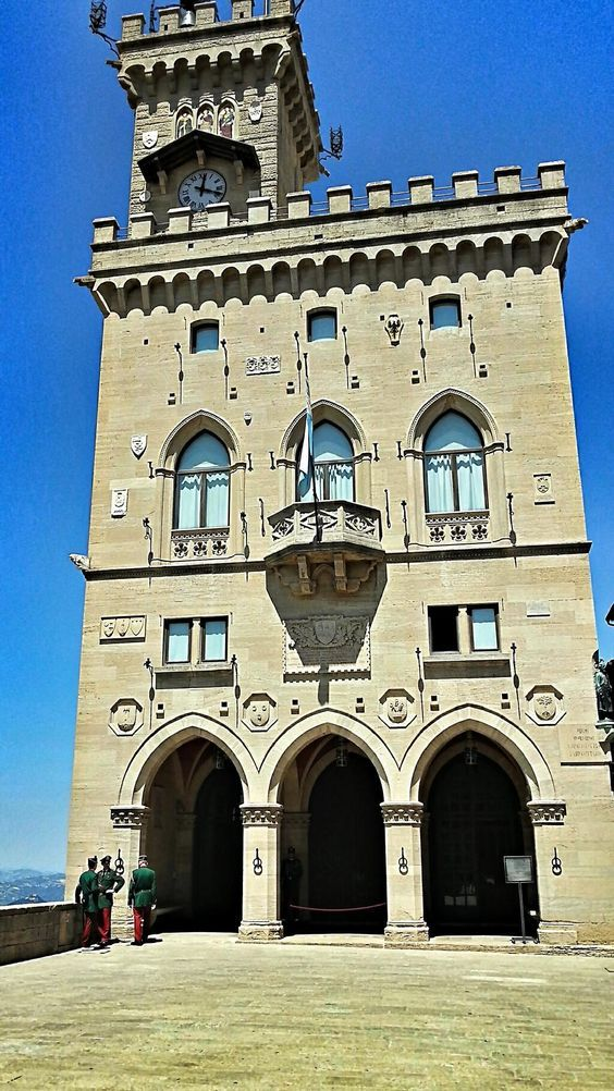 The Parlament Building Of San Marino. The 1st & Oldest