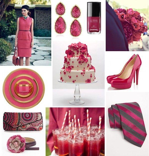 Raspberry Wedding Inspiration on COUTUREcolorado WEDDING - a colorado wedding blog