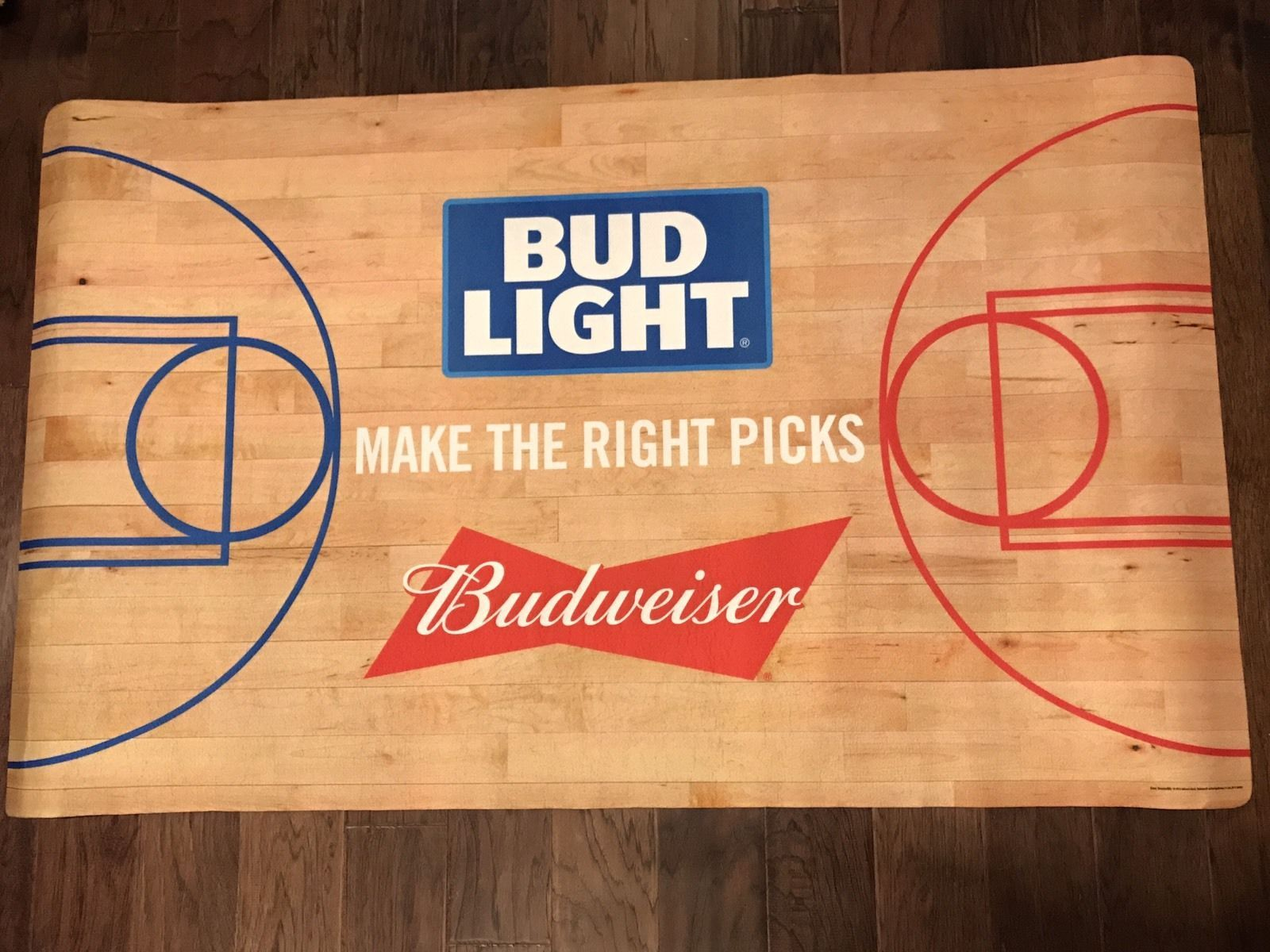 Bud Light Beer Ncaa College Basketball Tournament Carpet