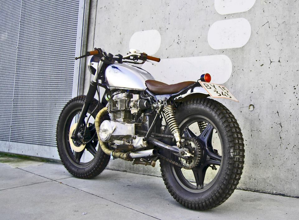 jesper's shed-built cb400 | motorcycles | pinterest | cafe bike