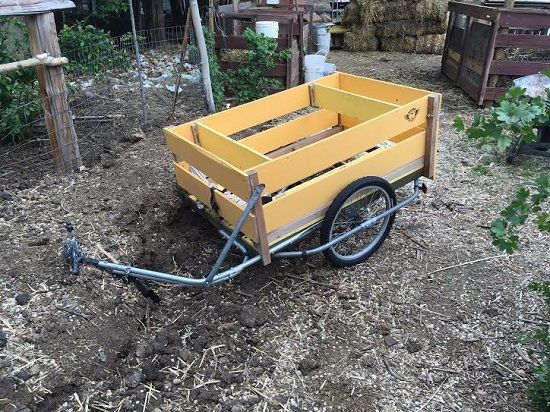 World S Best Diy Bike Cargo Trailer Bike Cargo Trailer Bike
