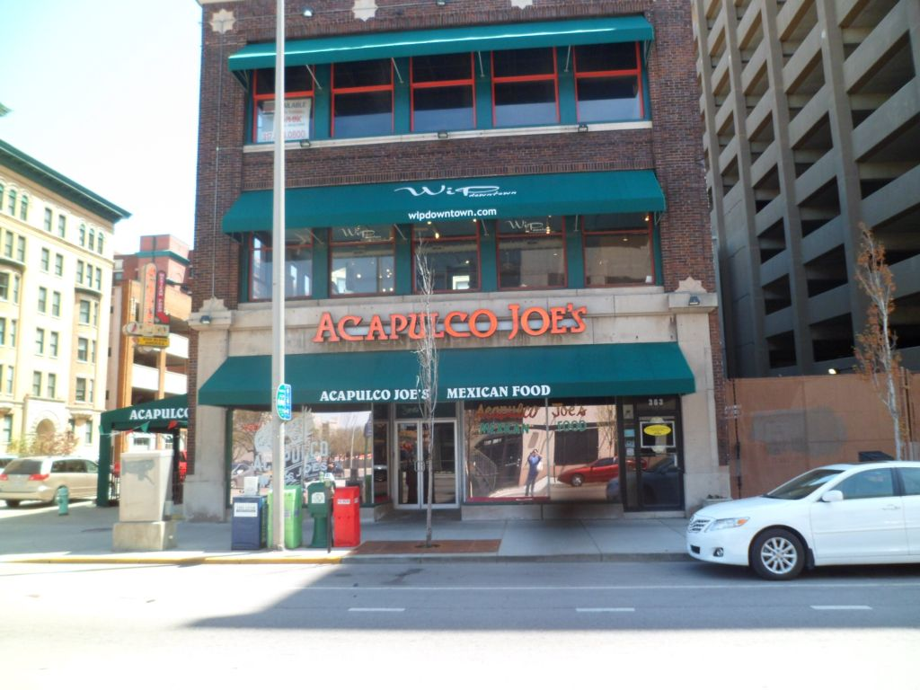 Acapulco Joe S Mexican Restaurant Downtown Indianapolis Indiana