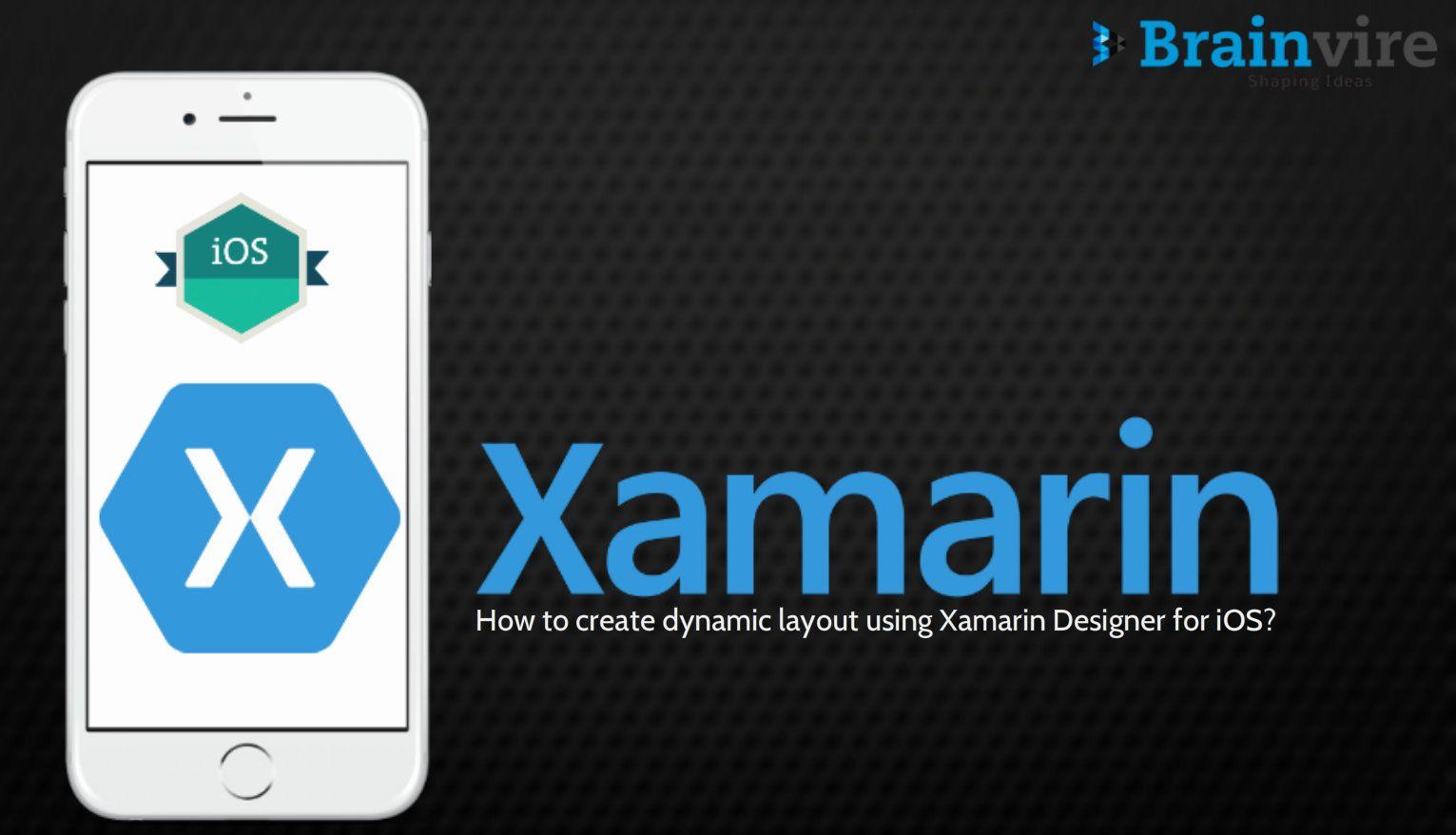 Xamarin designer visual studio