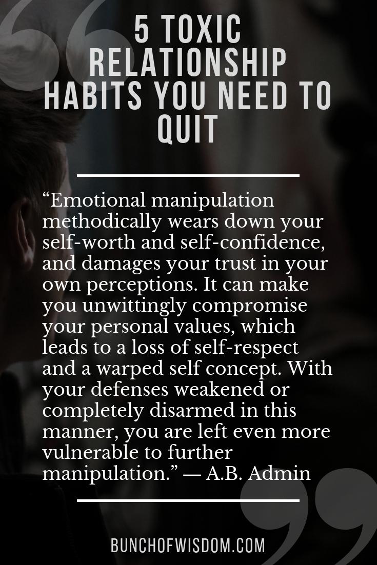 emotional manipulation dating