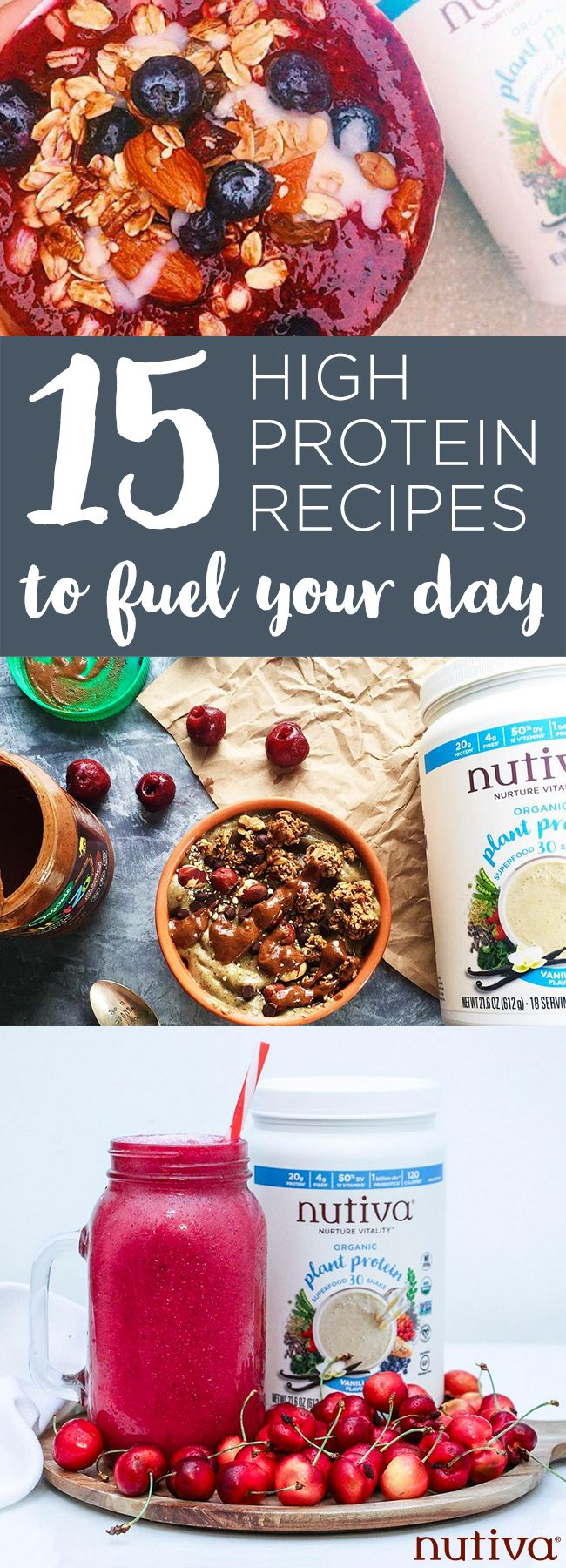 15 High Protein Recipes to Fuel Your Day kitchen.nutiva.com