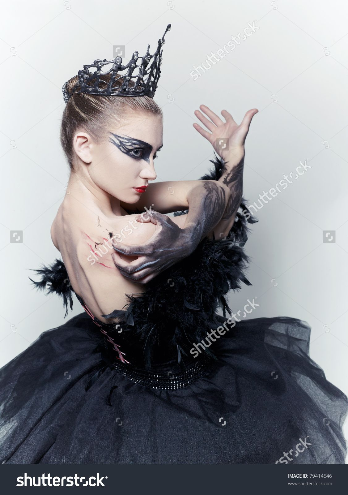 Ballerina Makeup Wallpapers High Quality: Ballerina-black-swan-makeup And Look