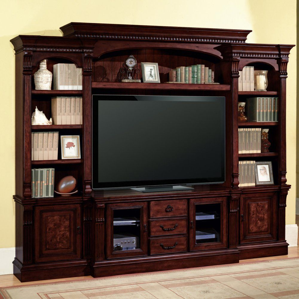 Amazon parker house corsica estate wall entertainment center