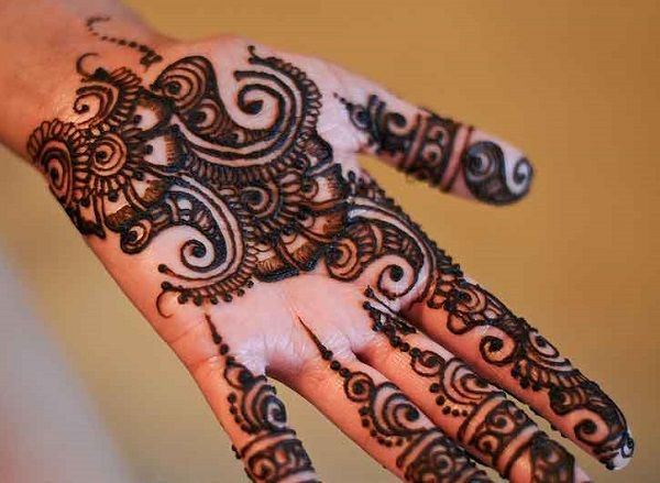 Mehndi Designs Latest Simple : Simple and easy mehndi designs for beginners step by