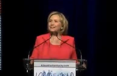 Hillary Clinton Storms Into Kentucky And Lowers The Boom on Mitch McConnell