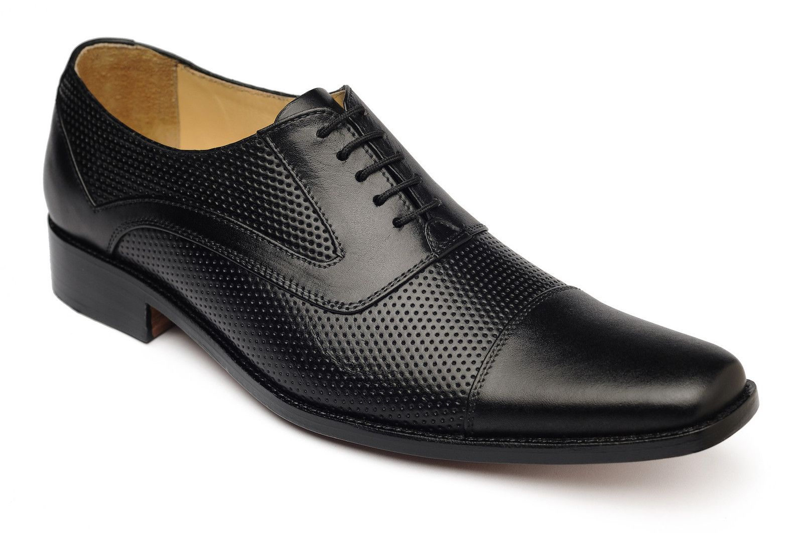 Perforated Leather Wingtips Breathable Dress Shoes Mens Black Dress Shoes Perforated Shoes Casual Dress Shoes [ 1063 x 1600 Pixel ]